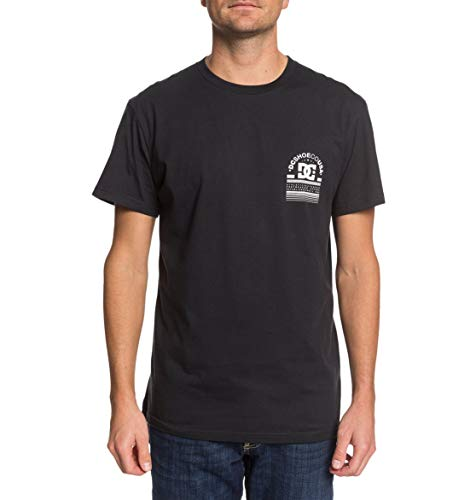 DC Shoes DC Arch-T-Shirt pour Homme, Black, FR : S (Taille Fabricant : S)