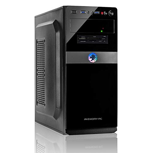 Memory PC Intel Core i5-10500 12-Thread CPU bis zu 4.50 GHz Turbo, 16 GB DDR4, 240 GB SSD + 2000 GB HDD, Intel UHD Graphics 630, Windows 10 Pro 64bit
