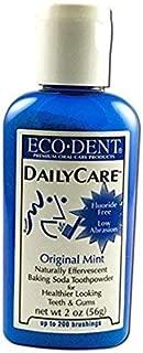 Eco-Dent Daily Care Baking Powder Toothpowder, Original Mint, 2 oz (56 g) 2-pack