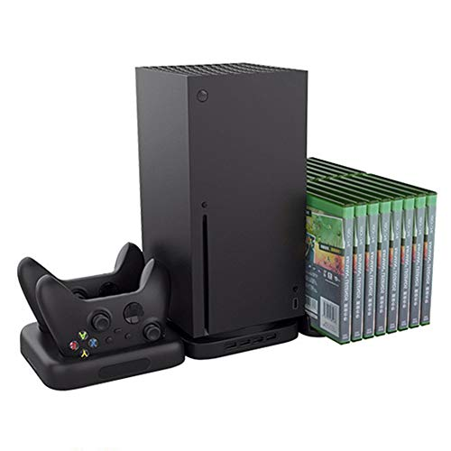 Fxwj 3 in 1 Xbox X Series Kit Vertical Stand Dual Charging Station...