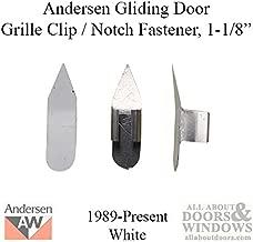 Andersen Window - Grille Clip/Notch Fastener (1989-Present) - White
