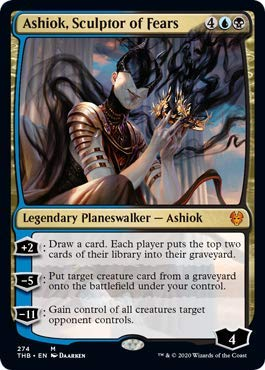 Magic: The Gathering - Ashiok, Sculptor of Fears - Foil - Planeswalker Deck Exclusive - Theros Beyond Death