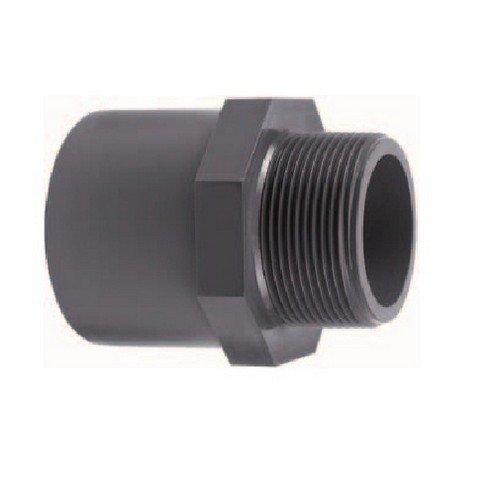 PVC übergangsnippel d'50/40 mm x 1 mm