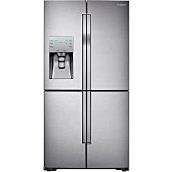 Samsung RF23J9011SR 22.5 Cu. Ft. Stainless Steel Counter Depth French Door Refrigerator - Energy Star