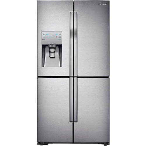 SAMSUNG 23 cu. ft. Counter Depth 4-Door Flex™ Refrigerator with FlexZone™  RF23J9011SR