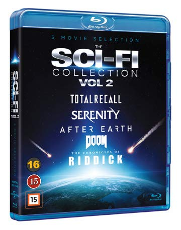 Sci-Fi Collection Vol. 2 - 5-Disc Set ( Total Recall / Serenity / After Earth / Riddick / Doom ) [ Schwedische Import ] (Blu-Ray)