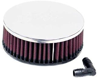 K&N RA 062V Waschbarer und wiederverwendbarer KFZ und Motorrad Universal Chrom Filter
