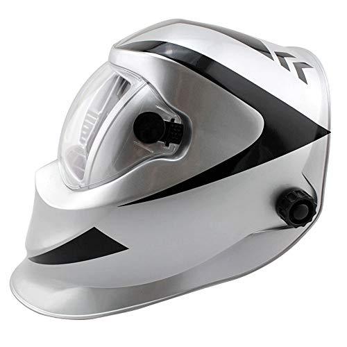 NZQLJT Pantalla soldar automatica, Máscara automática de Soldadura Solar Casco de la Soldadura (Recarga de energía) Protección Facial (Pistola Payaso) Naranja (Color : A-1)