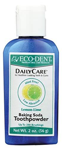 Eco-Dent Daily Care Baking Soda Toothpowder, Lemon-Lime 2 oz