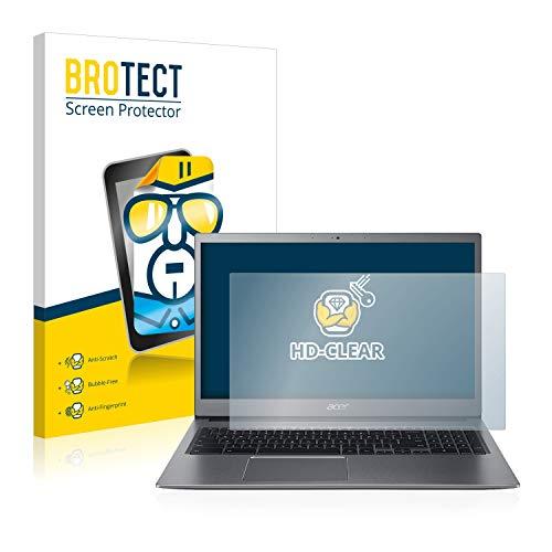 BROTECT Schutzfolie kompatibel mit Acer Chromebook 715 klare Bildschirmschutz-Folie