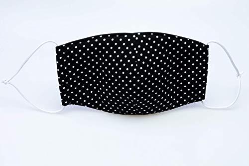 handgemachte Mund- und Nasenbedeckung aus Baumwollstoff, auch gegen Staub und Wind,