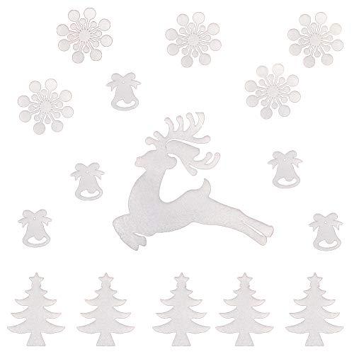 Demarkt Graz Design - Adhesivo decorativo para pared, diseño de árbol de Navidad