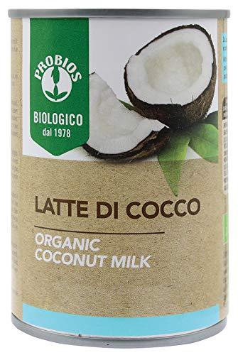 Probios Latte di Cocco Bio - [Confezione da 6 x 400 ml]
