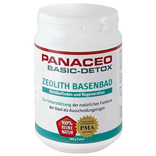 PANACEO Basic-Detox Zeolith Basenbad Pulver 800 g