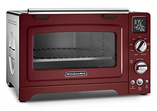 KitchenAid 12 inches Digital Countertop Oven | Gloss Cinnamon (Renewed)