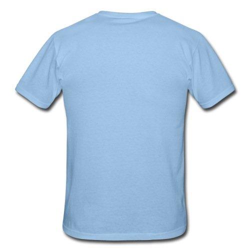 Spreadshirt Fuchs Auf Fahrrad Cycling Fox Männer T-Shirt, L, Sky - 3
