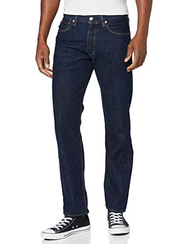 Levi's Herren 501 Levi's Original Fit Straight Jeans, Dark Indigo-flat Finish 226, 33W / 34L