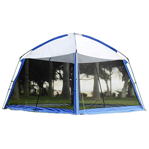 LLSS Outdoor Build Gazebo Garden Beach Camping Outdoor Gazebo,Can Prevent Mosquito Ultraviolet Rays Suitable for Parties Barbecues Camping