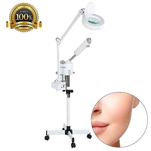 2 in 1 Facial Steamer LED loeplamp, staande lamp, spa, luchtbevochtiger, professionele uitrusting, schoonheidssalon, verlichting, tattoo-gereedschap voor de verzorging van de huid
