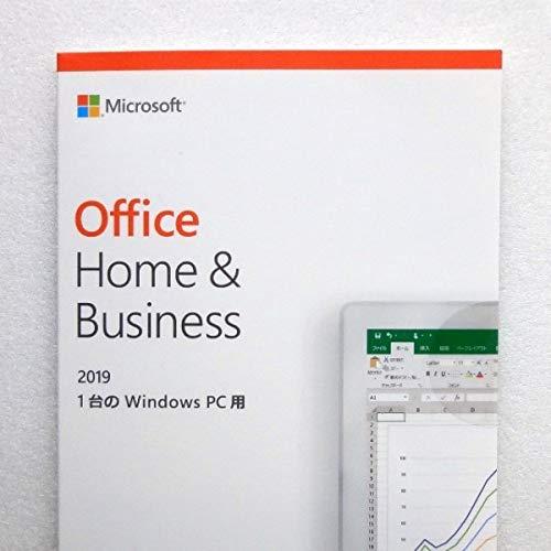 新品未開封 Microsoft Office Home and Business 2019 正規品 Word Excel PowerPoint Outlook ワード/エクセル/パワーポイント