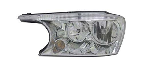 TYC 20-9348-00 Buick Rainier Left Replacement Head Lamp