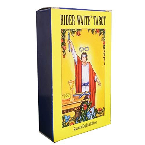 pnxq88 Tarot Deck,Engels Tarot Cards(Smith/Rider/Dier/Bekend/Legend/Schaduwen/Heks/Spanje/Wild wood/Dark/Prisma/Wiel Van Het Jaar/Wild Onbekend)