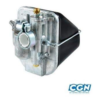 Carburateur MBK 88 pour 50 cc de a NC 1136 etat Neuf Carburateur type origine avec boite /à air moteur AV7.