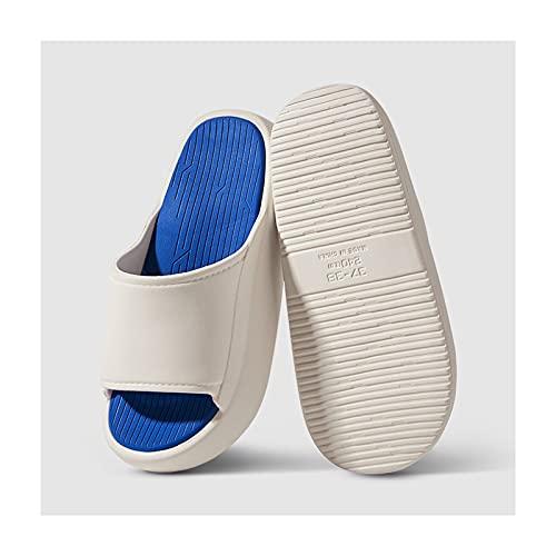 Zapatos de Playa y Piscina 3,5 cm Aumento de suela de espesor EVA Slippers Ladies Interior Al aire libre baño Zapatillas de ducha Moda antideslizante Sandalias Soladas SOFT SONIDAS Y ZAPATORIOS Playa