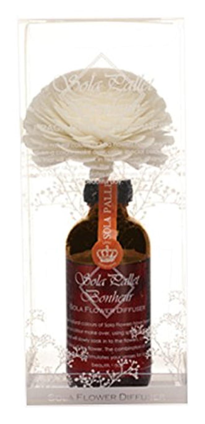 誕生おとなしい窓を洗うSOLA PALLET Bonheur ソラフラワーディフューザー Lilac Mandarin