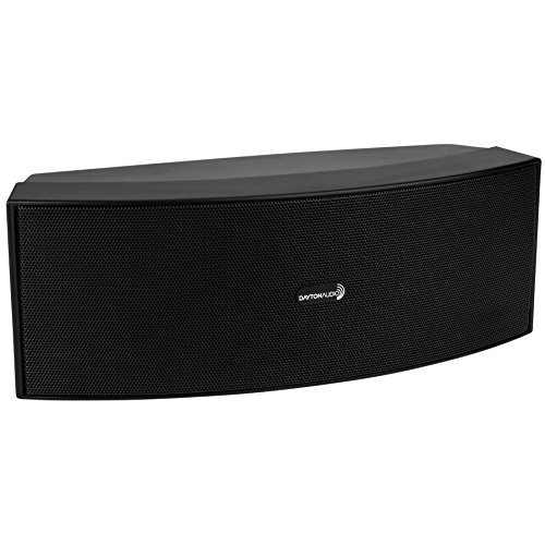 "Dayton Audio CCS-33B 3-3/4"" 3-Way Center Channel Speaker Black"