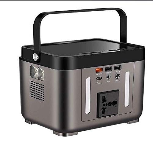 Generador Solar Portátil, generador Solar de batería de Iones de Litio de 178Wh / 200W con Toma de Corriente alterna de 220V para el hogar Acampar al Aire Libre Turismo de Aventura