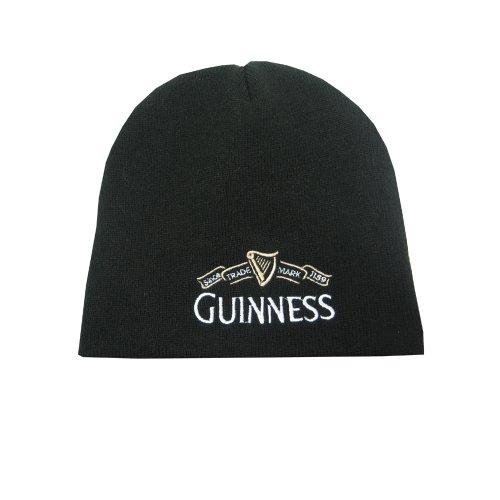 Guinness Official Merchandise Herren Kopfbedeckung   - Schwarz - Black - Einheitsgröße