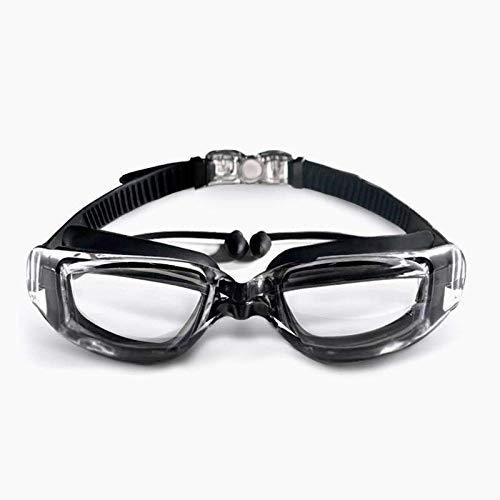 C-manual - Gafas de natación para hombre y mujer, polarizadas antirreflejos y antivaho con protección UV, gran campo de visión para adultos, para niño/niña/escuela secundaria y juvenil, natación, gafas de natación y equipos de natación, color 5., tamaño 10.2 x 22.9 x 5.1 cm