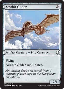Magic: the Gathering - Aesthir Glider - Aliante Aesthir - Dominaria.