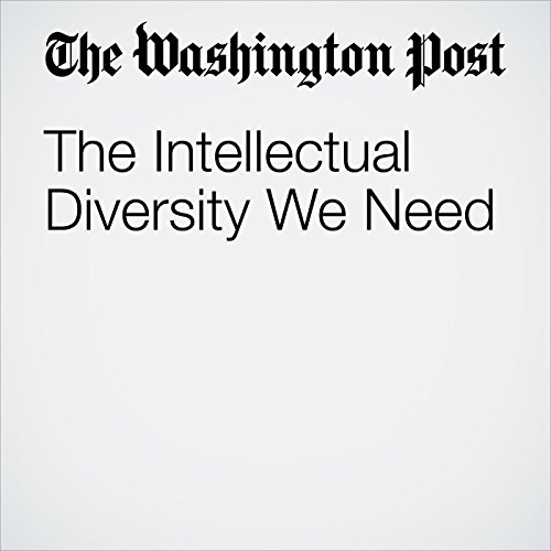 The Intellectual Diversity We Need copertina