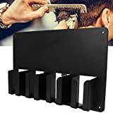 Maquinilla de múltiples funciones eléctrico de las podadoras de pelo de almacenamiento en rack montado en la pared sostenedor del pelo desbrozadora Soporte Herramientas Cuidado Personal