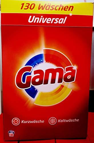 Waschmittel GAMA pulver Classic 130WL, 8,450kg