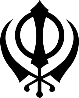 Khanda Sikh Spiritual Vinyl Decal Sticker Bumper Car Truck Window- 6