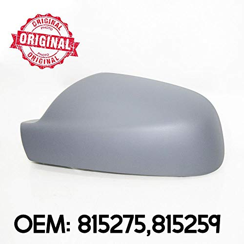 Carcasa para espejo retrovisor izquierdo compatible con 407 2004 – 2008 OEM 815275 815259
