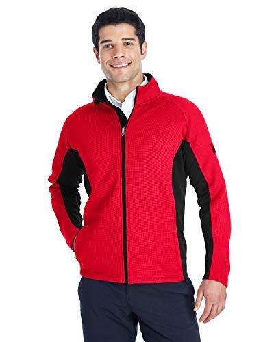 Spyder Men's Constant Full-Zip Sweater Fleece L Red/Black/ Blk