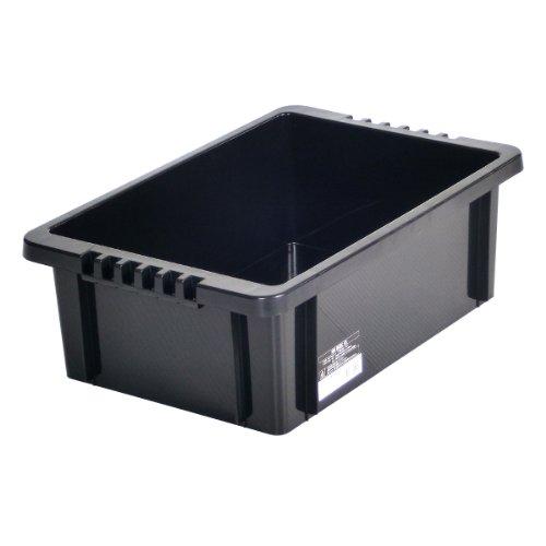 Astage(アステージ) NVボックス #13 ブラック W約28.7×D約43.5×H約14.5cm