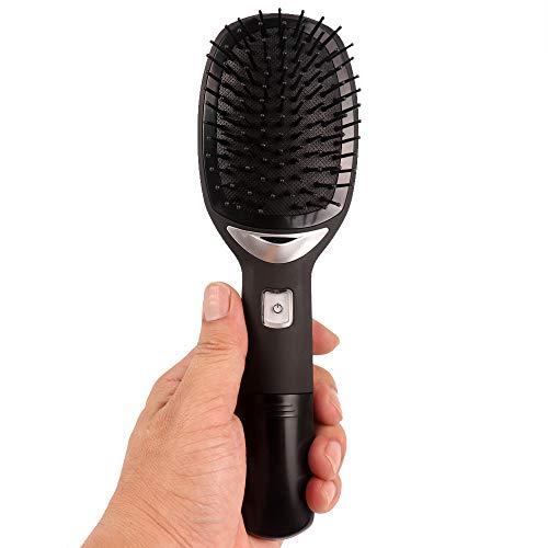 ECHOU Cepillo de Cabello Ionic Electric Electric Peinado Iónico Fuerte Ion Negativo Liberar Cabello Recto Antiestático Magic Abs y Nylon Material Hair Brush