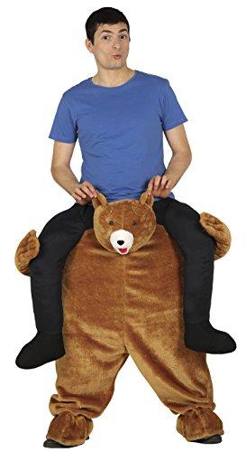 Guirca- Disfraz adulto carry me oso, Talla 52-54 (88286.0)