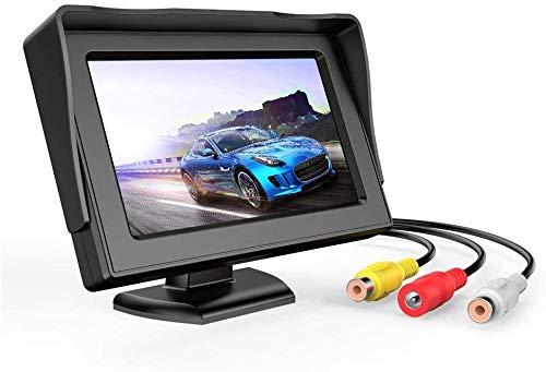 3T6B Schermo LCD da 4,3 Pollici, Display Retromarcia Impermeabile, Adatto per Camion e SUV