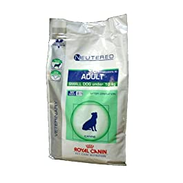 Royal Canin Dog Food Nutrition Neutered Adult Small Dog Vet Care 8 Kg
