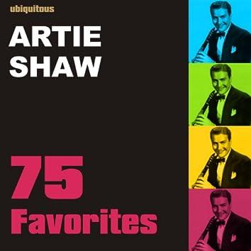 75 Favorites by Artie Shaw
