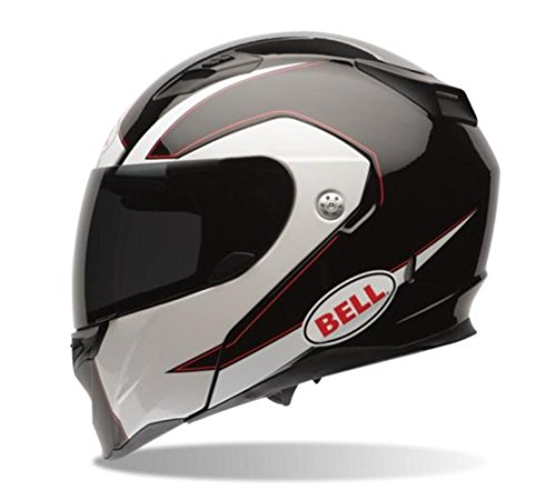 Bell Ghost Adult Revolver Evo Sports Bike Motorcycle Helmet - Black/Large