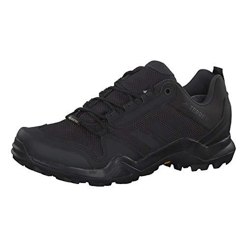 adidas Terrex AX3 GTX, Walking Shoe Hombre, Core Black/Core Black/Carbon, 43 1/3 EU