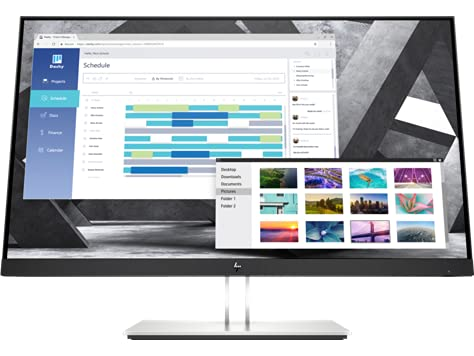 HP E27q G4 27 inch IPS Monitor - IPS Panel, 2560 x 1440 Resolution, 5ms...