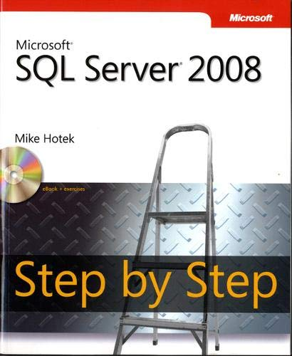 Microsoft SQL Server 2008 Step by Step Book/CD Package